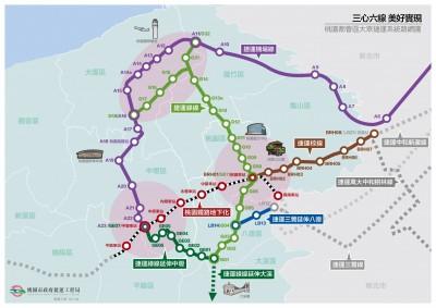 捷運三鶯線延伸八德採地下銜接桃園綠線 將送行政院核定