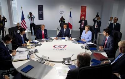 G7閉幕挺港自治 強調中英聯合聲明存在且重要