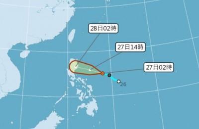 楊柳颱風最快今生成 週四起東、南部留意雨彈