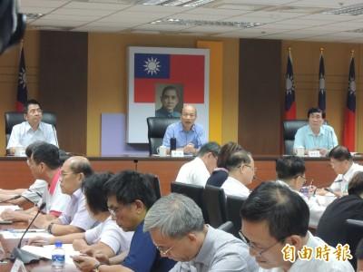 全程參與治安會報 韓國瑜:市府團隊被高標檢視前所未有