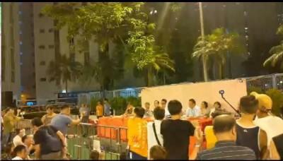 觀塘遊行大樓突改密碼 數百居民出席大會喝倒采