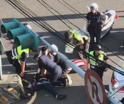 汐止撞警嫌獲限制住居處分 警政署:無法接受