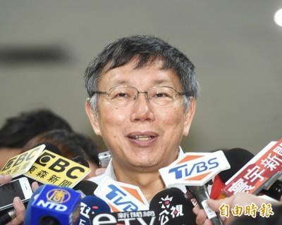韓國瑜「鳳走雞來」失言挨轟 柯P:少講話、多講多錯