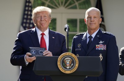 現在打法不同了! 川普宣布成立太空司令部