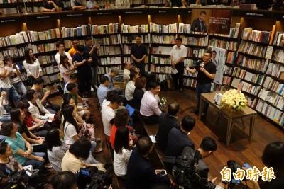 簽書會邀林佳龍當特別來賓 蔡其昌:我還滿氣他的