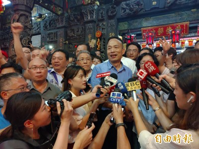 氣炸!港警血腥鎮壓反送中示威者 韓國瑜僅2字回應