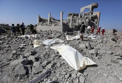 葉門叛軍一監獄遭空襲 逾百名戰俘被炸死