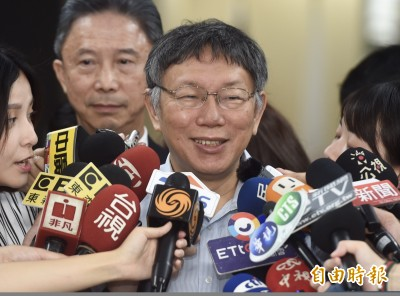 「你把我當什麼」?蔡衍明:柯P說過「台灣人就是中國人」