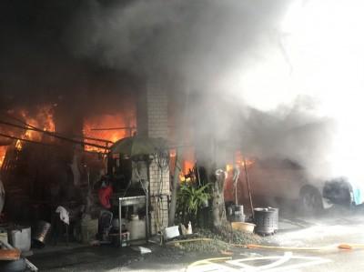疑電線走火 宜縣五結住宅火警燒死92歲老翁