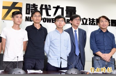 黃之鋒籲台灣社會 10.1前上街頭聲援香港