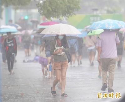 週四各地持續降雨 下週天氣有望回穩