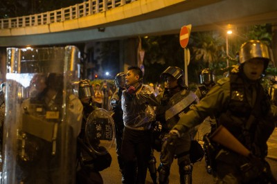 反送中》共同社:1日本男子參加示威遭港警逮捕