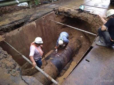 基隆、新北1萬8000戶停水23小時 中午前逐步恢復供水