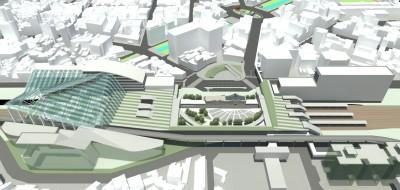 新竹大車站跨站式平台計畫綜合規劃再獲2400萬