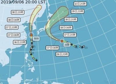 雙颱飆速往東北亞 赴日韓民眾要注意