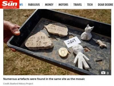 時空行者吉姆? 英國出土1600年文物 石塊驚見「簡體中文」
