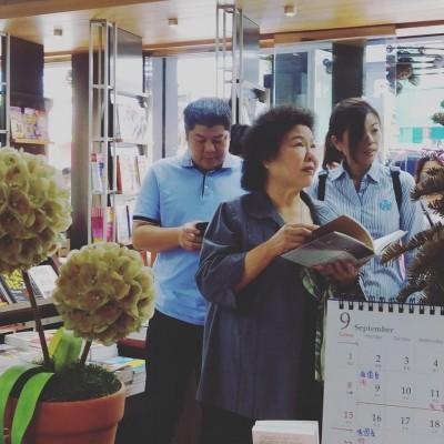 無視胖國瑜風波!陳菊巡禮三民書店勇敢做自己