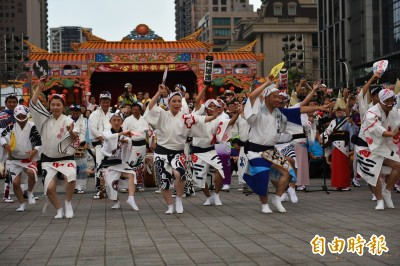 土地公國際民俗藝術節高潮 日本德島阿波舞開幕演出最吸睛