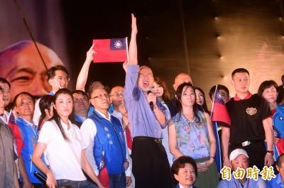 韓國瑜明將登台獻唱 王世堅諷:歌詞改「我要選總統」