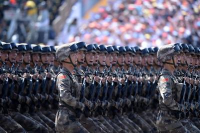 肅殺!中國十一閱兵今下午預演 北京全城警戒