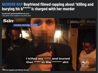 自己洩底!男子酒後唱饒舌 內容竟是「殺女友」過程