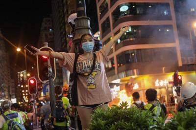 反送中》網傳警察打死人 港府:毫無根據