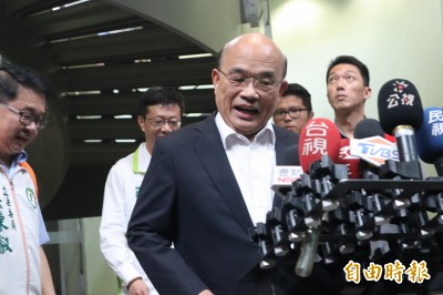 柯P又談台灣價值 蘇貞昌:「愛鄉土」是面對中國打壓要什麼態度