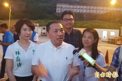 回新北力挺韓國瑜 李四川為缺席侯友宜講話了