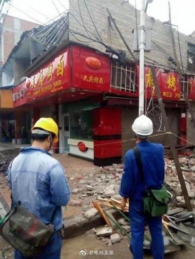 四川今晨規模5.4極淺層地震 至少1死29傷