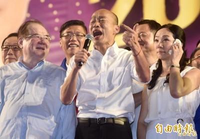 韓國瑜唱《浪子回頭》 「小柏老師」:比垃圾還垃圾