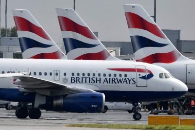 英國航空全面停擺!機師今明大罷工 取消近100%航班