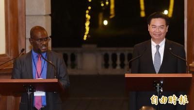 台索雙外長重申邦誼積極友好 次長徐斯儉下週再訪索羅門