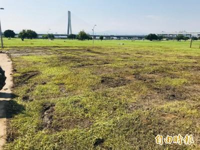 韓粉踩爛草皮0.05公頃還飄惡臭 侯市府估賠償費用...