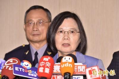 殉職警女友提3建議  蔡總統重申:努力讓悲劇不再發生
