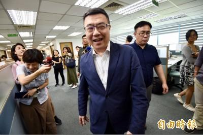 黃國昌選總統?卓榮泰:台灣人只要合乎資格就能選