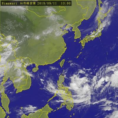 菲東熱帶低壓最快今成颱「琵琶」 是否接近台灣有變數