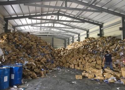 知名藥粧3.5噸報廢面膜流入市面 竟是環保公司暗槓轉送