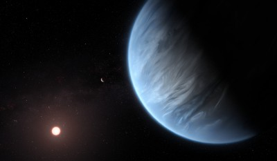 史上首見!科學家發現適居超級地球 溫度適中又有含水大氣層