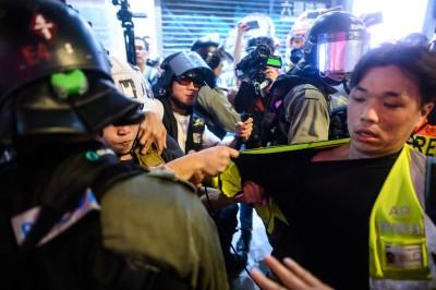 反送中》要求停止暴力行為 香港記者協會譴責警方