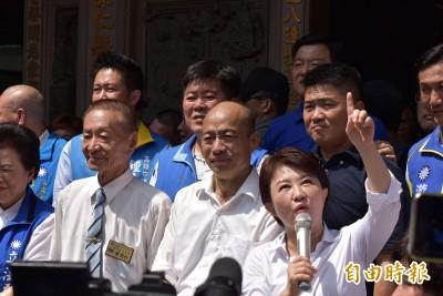 施政最差兩市長合體 盧秀燕:大家抬頭看天空「藍天再現」
