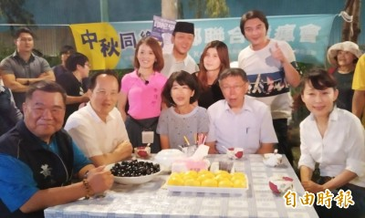 將加入台灣民眾黨? 郭新政出席柯P高雄烤肉會