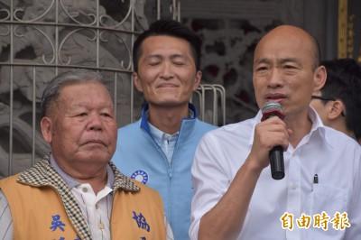 菊姐帶大的小孩被騙走?韓國瑜:民進黨帶20年成營養不良