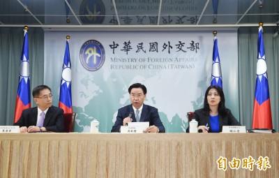 台索正式分手 吳釗燮:全面停止雙邊合作