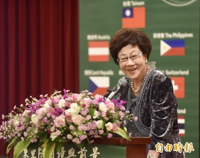 呂秀蓮宣布參選2020總統 喜樂島聯盟推薦對決蔡英文