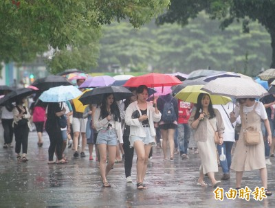 週二早晚稍涼 北東留意局部短暫雨