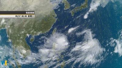 低壓帶靠近估北東降雨持續到下週 不排除週四五成颱