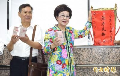 呂秀蓮參選總統 蔡競辦尊重