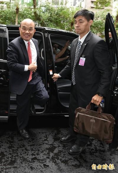 藍委杯葛總質詢 蘇揆:應透過民主程序讓台灣更好