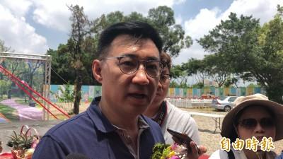 郭台銘聲明不選總統 立委江啟臣:我們都是中華民國派