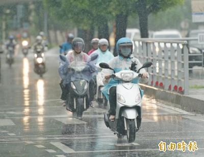 北部、東北部週四仍有陣雨 「塔巴」颱風有機會生成